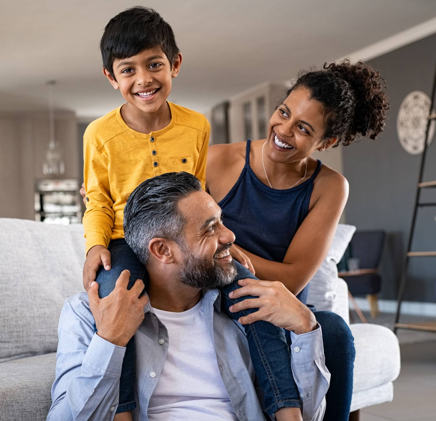 Mississauga family Enjoying Indoor Air Quality